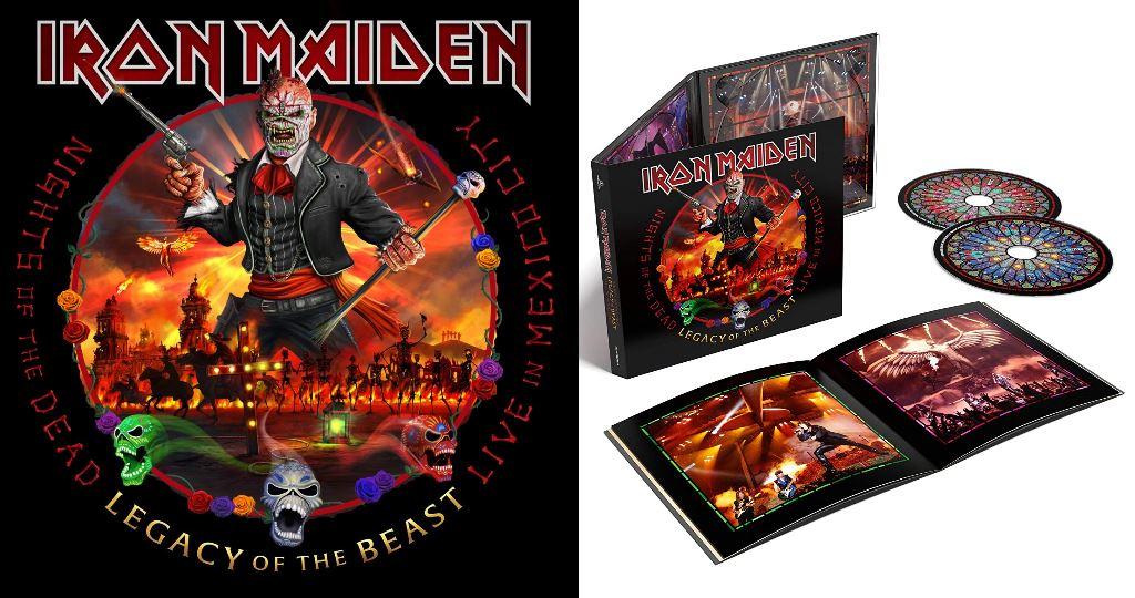 Night Of The Dead, Legacy Of The Beast de Iron Maiden, crítica y opinión