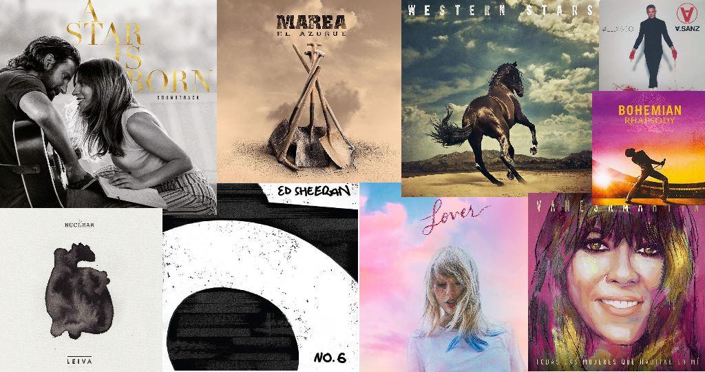 Los discos más vendidos del año 2019
