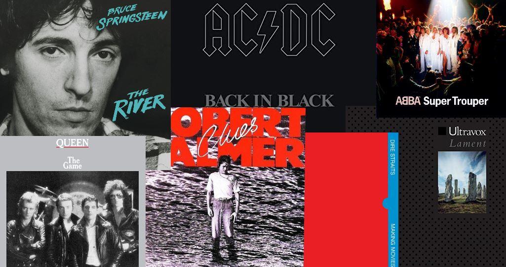 Las mejores canciones del año 1980